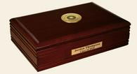 New York Institute of Technology Desk Box - Gold Engraved Medallion Desk Box