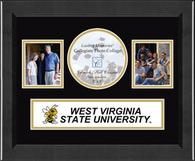 West Virginia State University Photo Frame - Lasting Memories Banner Collage Photo Frame in Arena