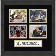 West Virginia State University Photo Frame - Lasting Memories Quad Banner College Photo Frame in Arena