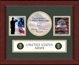 United States Army Photo Frame - Army Lasting Memories Banner Collage Photo Frame in Sierra