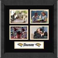 Towson University Photo Frame - Lasting Memories Quad Collage Photo Frame in Arena