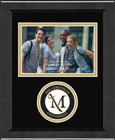 Millersville University of Pennsylvania Photo Frame - Lasting Memories Circle Logo Photo Frame in Arena