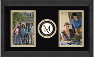 Millersville University of Pennsylvania Photo Frame - Lasting Memories Double Circle Logo Photo Frame in Arena