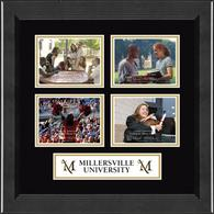 Millersville University of Pennsylvania Photo Frame - Lasting Memories Quad Banner Collage Photo Frame in Arena