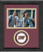 Bloomsburg University Photo Frame - Lasting Memories Circle Logo Photo Frame in Arena