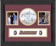 Bloomsburg University Photo Frame - Lasting Memories Banner Collage Photo Frame in Arena