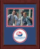 Shippensburg University Photo Frame - Lasting Memories Circle Logo Photo Frame in Sierra