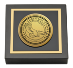 Oklahoma Christian University Paperweight - Gold Engraved Paperweight