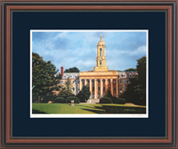 Pennsylvania State University Diploma Frame - Framed Lithograph in Regency