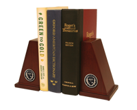 University of Louisiana Lafayette Bookends - Masterpiece Medallion Bookends