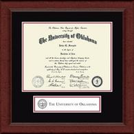 The University of Oklahoma Diploma Frame - Lasting Memories Banner Diploma Frame in Sierra