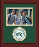Humboldt State University  Photo Frame - 4'x6' - Lasting Memories Circle Logo Photo Frame in Sierra