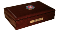 National Rifle Association of America Desk Box - Masterpiece Medallion Desk Box