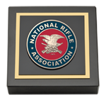 National Rifle Association of America Paperweight - Masterpiece Medallion Paperweight