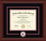 Southeast Missouri State University Diploma Frame - Circle Logo Edition Diploma Frame in Sierra