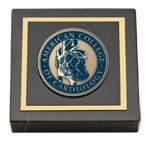 American College of Cardiology Paperweight - Masterpiece Medallion Paperweight