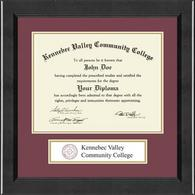Kennebec Valley Community College Diploma Frame - Lasting Memories Banner Diploma Frame in Arena