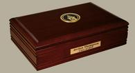 Cossatot Community College University of Arkansas Desk Box - Gold Engraved Desk Box