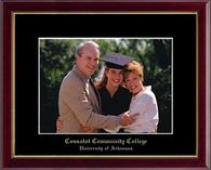 Cossatot Community College University of Arkansas Photo Frame - Gold Embossed Photo Frame in Galleria