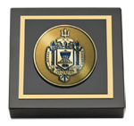 United States Naval Academy Paperweight - Masterpiece Medallion Paperweight