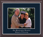 The Washington Hospital School of Nursing Photo Frame - Silver Embossed Photo Frame in Devon