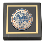 University of Florida Paperweight - Masterpiece Medallion Paperweight