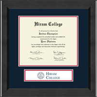 Hiram College Diploma Frame - Banner Edition Diploma Frame in Arena