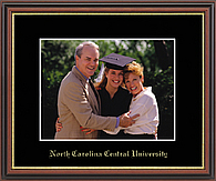 North Carolina Central University Photo Frame - Embossed Photo Frame in Williamsburg
