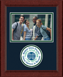 Hebrew Union College Photo Frame - Lasting Memories Circle Logo Photo Frame in Sierra