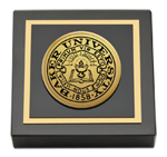 Baker University Paperweight - Gold Engraved Paperweight