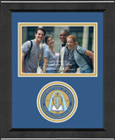 Saint Louis College of Pharmacy Photo Frame - Lasting Memories Circle Logo Photo Frame in Arena