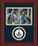 Hyde School Photo Frame - Lasting Memories Circle Logo Photo Frame in Sierra