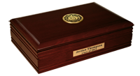 Murray State University Desk Box - Gold Engraved Medallion Desk Box