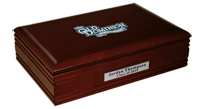Old Dominion University Desk Box - Spirit Medallion Desk Box
