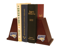 University of Northern Iowa Bookends - Spirit Medallion Bookends