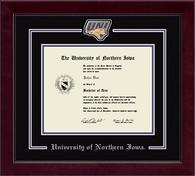 University of Northern Iowa Diploma Frame - Spirit Medallion Diploma Frame in Cordova