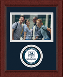 Kent School in Connecticut Photo Frame - Lasting Memories Circle Logo Photo Frame in Sierra
