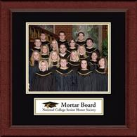 Mortar Board National College Senior Honor Society Photo Frame - Lasting Memories Banner Chapter Photo Frame in Sierra