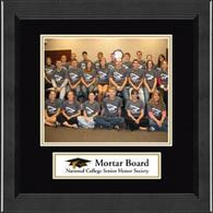 Mortar Board National College Senior Honor Society Photo Frame - Lasting Memories Banner Chapter Photo Frame in Arena