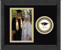 Mortar Board National College Senior Honor Society Photo Frame - Lasting Memories Circle Logo Photo Frame in Arena