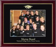 Mortar Board National College Senior Honor Society Photo Frame - Embossed Photo Frame in Galleria