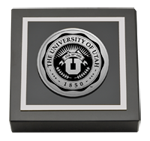 The University of Utah Paperweight - Silver Engraved Paperweight