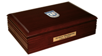 The University of Memphis Desk Box - Masterpiece Medallion Desk Box