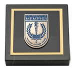 The University of Memphis Paperweight - Masterpiece Medallion Paperweight