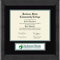 Jackson State Community College Diploma Frame - Lasting Memories Banner Diploma Frame in Arena