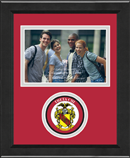 Theta Chi Photo Frame - 4' x 6' - Lasting Memories Circle Logo Photo Frame in Arena