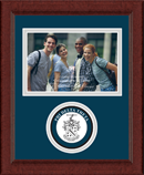 Phi Delta Theta Photo Frame - 4' x 6' - Lasting Memories Circle Logo Photo Frame in Sierra