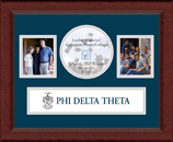 Phi Delta Theta Photo Frame - Lasting Memories Banner Collage Photo Frame in Sierra