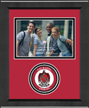 Tau Kappa Epsilon Photo Frame - 4' x 6' - Lasting Memories Circle Logo Photo Frame in Arena
