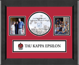 Tau Kappa Epsilon Photo Frame - Lasting Memories Banner Collage Photo Frame in Arena